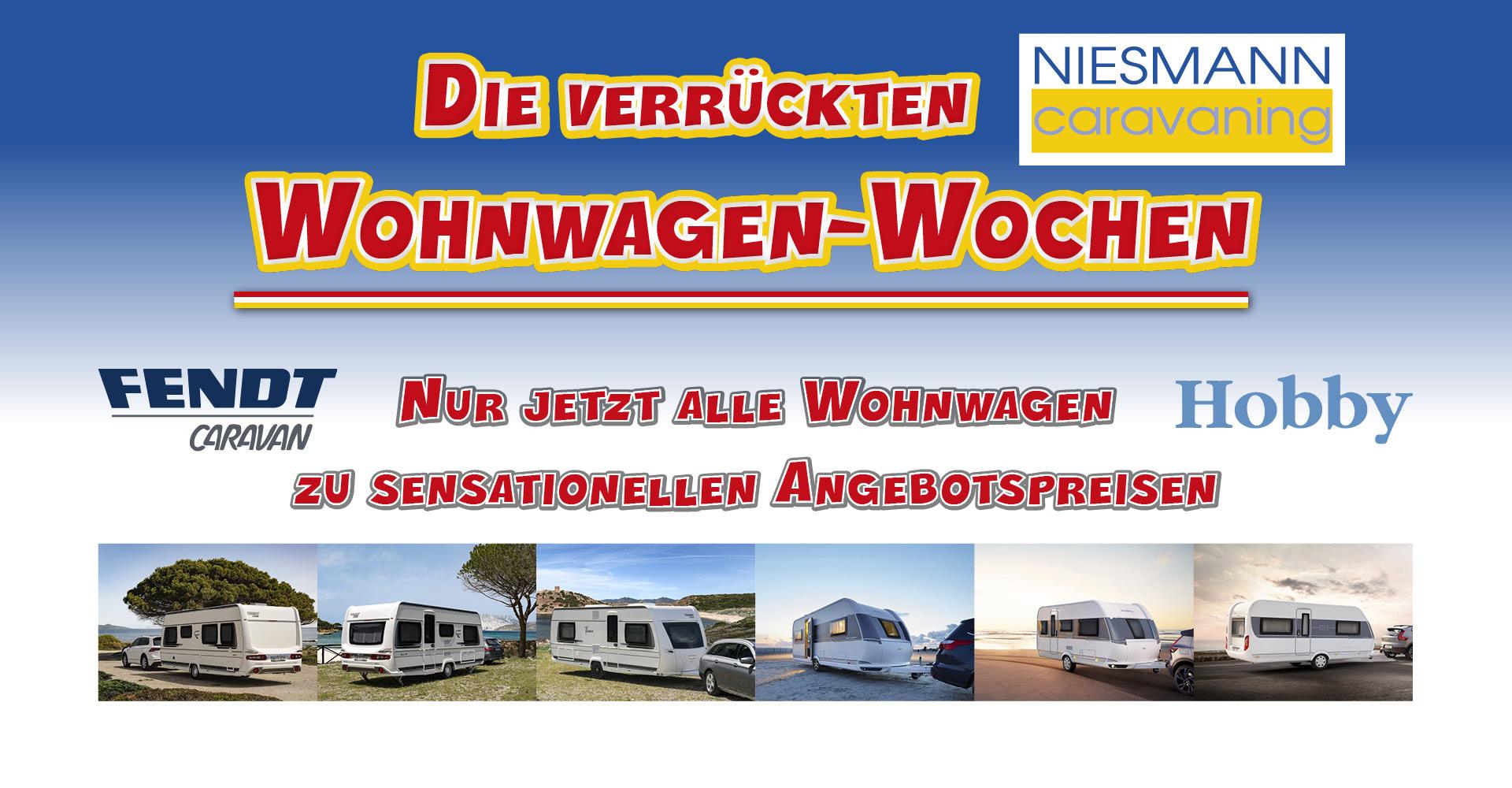 Die Verruckten Wohnwagen Wochen Bei Niesmann Caravaning